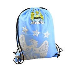 UFFICIALE Manchester City Fc Foil stampa Coulisse Palestra Borsa Nuoto Scuola Sport