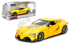 JADA JDM TUNER IMPORT TOYOTA FT-1 CONCEPT YELLOW 1/24 DIECAST CAR 98781 NEW