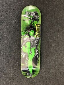 RARE CREATURE BABES Series 1 TODD BRATRUD Art 8.25 Medium Skateboard Deck NOS