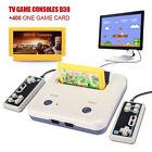 TV VIDEO Clásico Consola de juegos SUITE + DOS LLAVES MANDOS 400 Tarjeta HOT