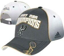 San Antonio Spurs adidas 2007 NBA Champions Official Locker Room Cap Hat
