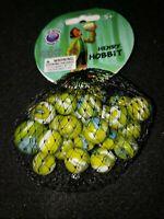 Mega marbles Net 24 plus 1 Collectors Series Henry Hobbit swirl