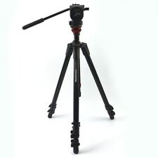 Manfrotto Video Tripod Kit 755 With Mid 128RC and Bag MBAG80N