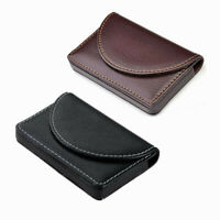 1pc Pocket PU Leather Name Business Card ID Card Credit Card Holder Case Wallet