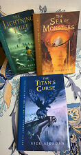 Percy Jackson , Paperback Book 1-3 Pre Owned 3 Book Lot