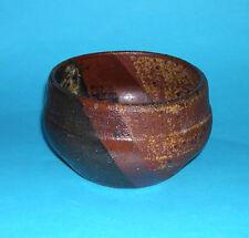 Quality Studio Pottery - Attractive Stoneware Mixed Glaze Dish - Marked CG.