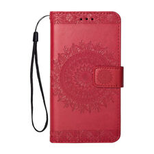 For Samsung Galaxy J3 J5 J7 S6 S7 S9+ Wallet Leather Card Flip Stand Case Cover