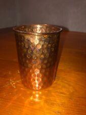 4 VINTAGE SAGA STEEL COPPER CUPS New