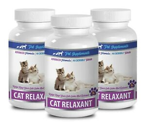 kitty calming treats - CAT RELAXANT - cat travel calming 3B