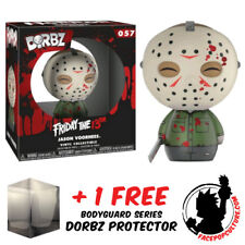 FUNKO DORBZ FRIDAY THE 13TH JASON VOORHEES BLOODY EXCLUSIVE FREE DORBZ PROTECTOR