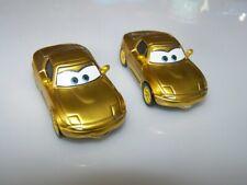 Disney Pixar Cars McQueen Fans Mia  Tia Diecast 1:55 Bundle Combine Post gold