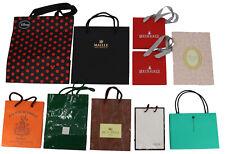 Empty Shopping Gift Paper Bag packaging 10P Set COACH Disney Red Orange -47