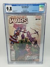 Secret Wars #4 Chris Samnee Variant Cover 9.8 CGC WHITE Pages Gwen Stacey 9/15