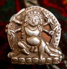 18th c. Tibetan Buddhist Silver Bhairava Gau