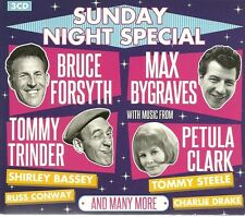 SUNDAY NIGHT SPECIAL 3 CD SET MAX BYGRAVES, BRUCE FORSYTH & CLIFF RICHARD MORE