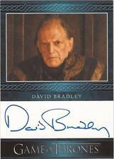 "Game of Thrones Season 3 - David Bradley ""Walder Frey"" Autograph Card"