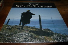 """STING - Vinyle Maxi 45 tours / 12"""" !!! WE'LL BE TOGETHER !!!sp-12251 !!!"""
