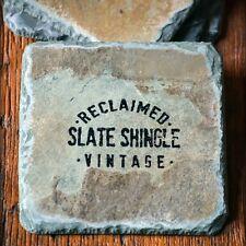 T. Michael Studios: Reclaimed Slate Coasters / Martha Stewart American Made