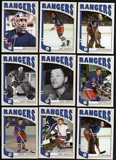 Rangers Set ITG Franchises Lot (25) Terry Sawchuk Gump Worsley Mike Richter +