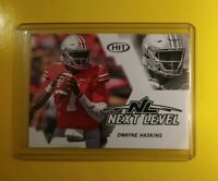 2019 Sage HIT Dwayne Haskins Ohio State Buckeyes Next Level Card 62 *Spectacular