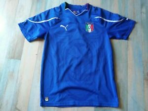 MAILLOT FOOT PUMA EQUIPE D' ITALIE N°7 BABY TAILLE M/D5 TBE