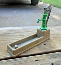 Vtg 1985 Playmobil Water Trough 'Milkmaid w/ Cows (Farm)' Furniture/Toy
