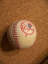 1997 SPC MLB tophat logo NY New York Yankees baseball ball used dirty