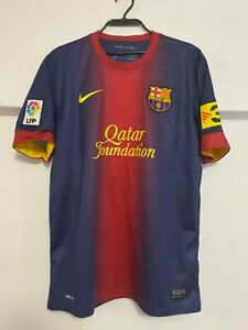 Vintage Nike FC Barcelona Heimtrikot Trikot Herren Größe M #8 A. Iniesta