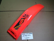 GAS GAS 1994 RED JT25 CONTACT TRIALS REAR FENDER MUDGUARD NOS WITH STICKERS