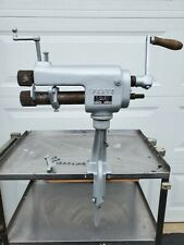 The Peck Stow And Wilcox Co No 622e Pexto Crimping Roll Set With Stand