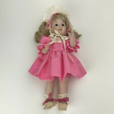 """Porcelain Doll Sfbj 247 Paris Jointed Full Body Blonde Hair Blue Eyes 10"""""""