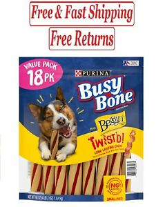 Purina Busy With Beggin' Twist'd Small/Medium Breed Dog Treats (18 ct.)