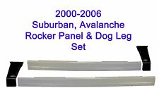 2000-2006 CHEVROLET SUBURBAN 1500 2500 ROCKER PANELS AND LOWER QUARTER PANELS
