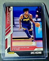James Wiseman 2020-21 Panini NBA Instant #51 Rookie Basketball Card 1 of 444