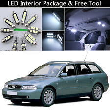 13PCS Canbus LED Interior Lights Package kit Fit 1996-2001 Audi A4 B5 ESTATE J1