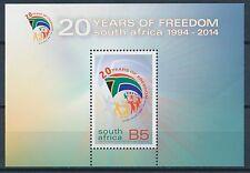 Südafrika Block 20 Jahre Frieden 1994-2014 ** Postfrisch