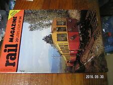 1ùµ?  Revue Rail Magazine n°64 ABJ4 140 C 27 dans Vosges Narbonne-Port-Bou