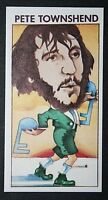 THE WHO  Pete Townsend    Original 1970's Card ##  CAT B