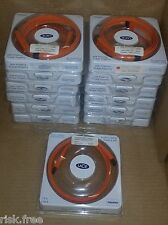 Lot of 11 Lacie 1.2m 3.94ft Fiirewire 400 to Fiirewire 400 Flat Cable
