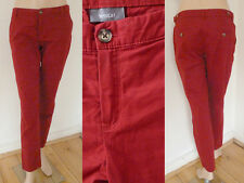 Yessica Hose C&A Sommer Girl Chino Casual Style dunkelrot XS 36 1A