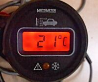 Bmw r45 r65 r75 r80 r90 r100 s rs rt t cs gs g/s ls MotoMeter termometro digital