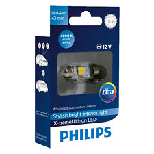 Philips Xtreme ultinon Festoon Bombilla LED C5W 4000K 43 mm (single Bombilla)