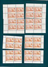 CANADA #465A (Pl.2 PVA) & #465B (Pl.1 Dex) Centennial Definitive 50¢ 1971 MNH