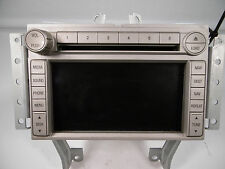 2008 09 Lincoln MKZ AM FM 6disc Player with Navigation OEM-8H6T-18K931-DA