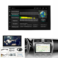 "7"" Touch Screen 2 Din Android  9.1 Car GPS MP3 MP5 Player Quad-core 2GB + 32GB"