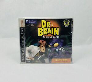Dr. Brain Thinking Game IQ Adventure PC (CD, 1999) WINDOWS 98/95