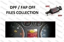 DPF / FAP OFF FILES COLLECTION