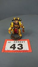 Warhammer 30,000 Space Marines Forge World Imperial Fists Praetor Commander 43