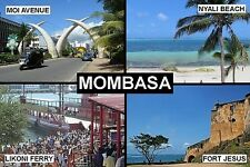 SOUVENIR FRIDGE MAGNET of MOMBASA KENYA