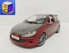 PEUGEOT 206 TUNING - NOREV 1/18 (NO WELLY, NO OTTOMOBILE)